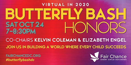 2020 Fair Chance Butterfly Bash Honors tickets