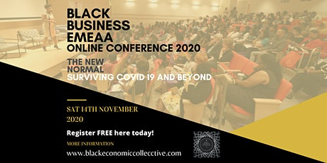 Black Business EMEAA Online Conference  2020 tickets
