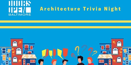 Doors Open Baltimore Architecture Trivia Night tickets