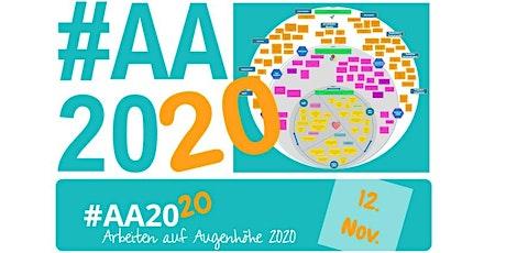 #AA2020 - Arbeiten auf Augenhöhe - ein BarCamp-Event rund um New Work Tickets