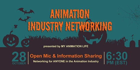 Animation Industry Networking : Online Meet Up tickets