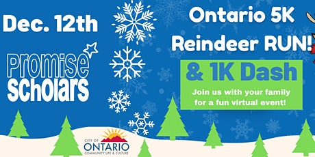 Join us for the 2020 Ontario Reindeer Run and 1K Rudolph Dash tickets