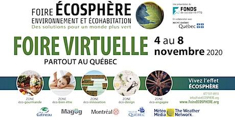 Foire ÉCOSPHÈRE - Virtuelle (Gratuit) billets