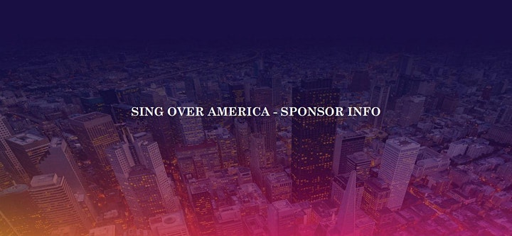 Sing Over America 2020 // Terry MacAlmon, Don Moen, Paul Wilbur and others! image