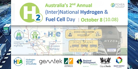Australia's 2nd (Inter)National Hydrogen and Fuel Cell Day tickets