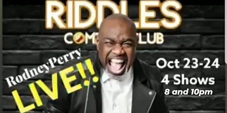 Damon Williams Presents Rodney Perry at Riddles tickets