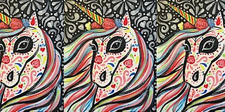 Easely Does It Kids - Dia de los muertos unicornio tickets