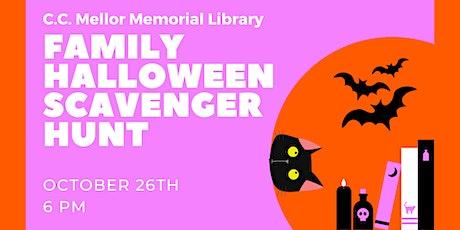Family Halloween Scavenger Hunt tickets