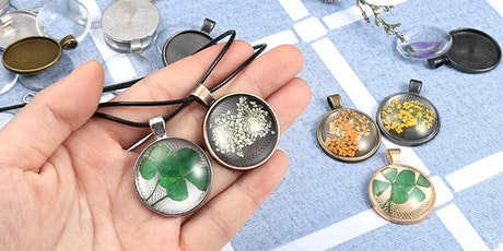 Adult Craft Connection: Take and Make Cabochon Necklaces tickets
