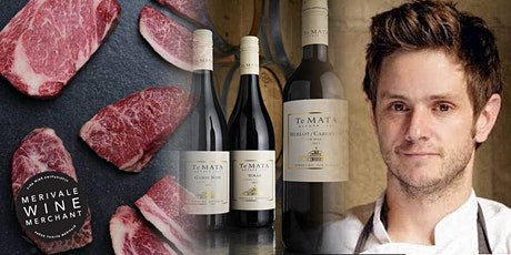Merivale Wine Merchant - BLACK ORIGIN WAGYU & TE MATA ESTATE WINE tickets