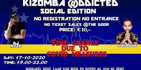 Kizomba @ddicted Social/Practice Edition 17 okt tickets