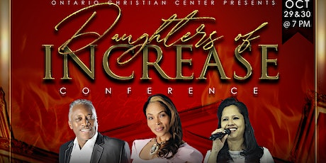 **VENDOR PROMOTION** FOR 2020 DAUGHTERS OF INCREASE CONFERENCE tickets