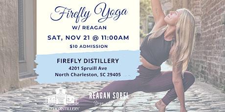 Firefly Yoga w/ Reagan Sobel - Nov 21st tickets
