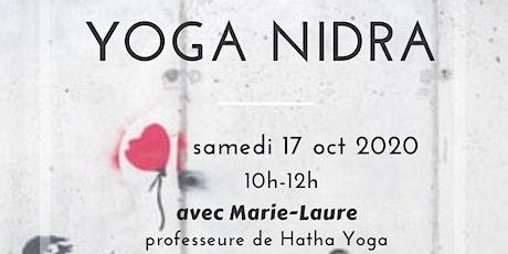 Yoga Nidra - Session de Découverte -3- billets