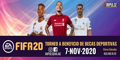 Torneo benéfico l Fifa 20 boletos
