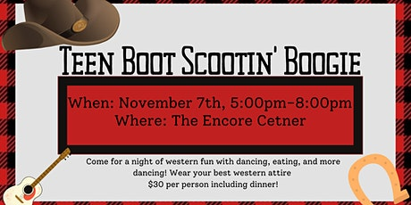 Teen Boot Scootin' Boogie tickets