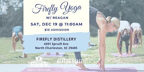 Firefly Yoga w/ Reagan Sobel - Dec 19th tickets