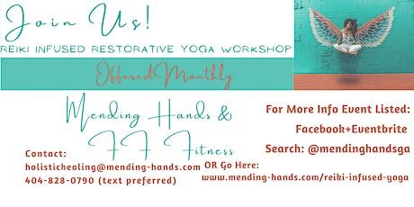Restorative Yoga + Reiki Healing + Aromatherapy with Essential Oils tickets