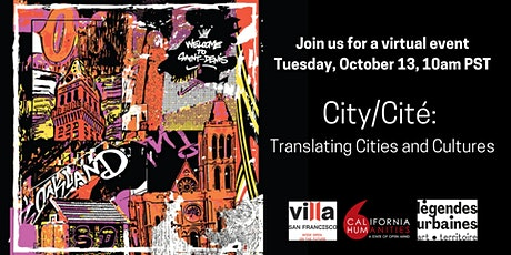 City/ Cité: Translating Cities and Cultures tickets