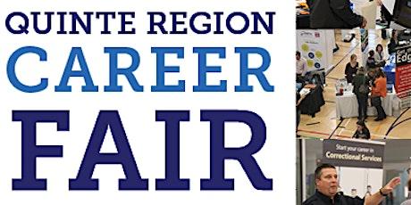 Virtual Quinte Region Career Fair-Employer Registration tickets