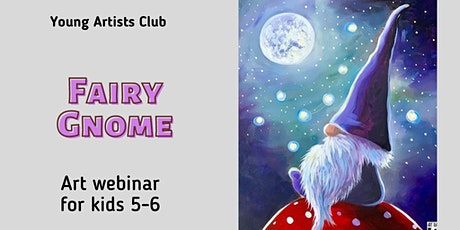 Young Artist Club - Online Art Webinar for 5-6 year olds tickets