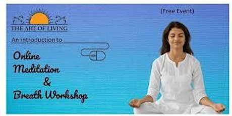 An Introduction to The MEDITATION & BREATH Program tickets