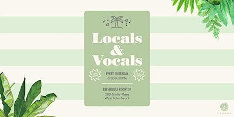 Locals & Vocals tickets