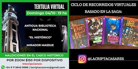 MALDICIONES EN EL CASCO HISTÓRICO |VIRTUAL (WEB / ONLINE) entradas