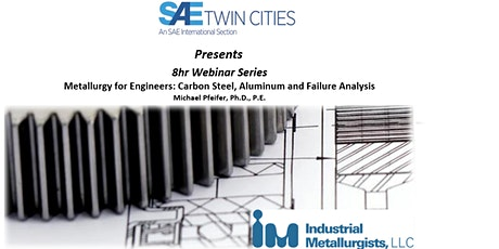 Metallurgy for Engineers: Carbon Steel, Aluminum, and Failure Anaylsis tickets