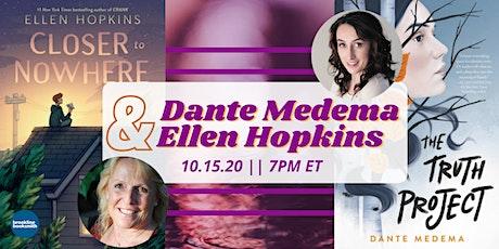 Dante Medema and Ellen Hopkins tickets