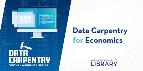 Data Carpentry for Economics tickets