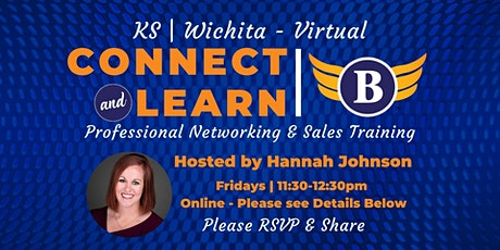 Wichita, KS: Connect & Learn | Professional Networking & Sales tickets
