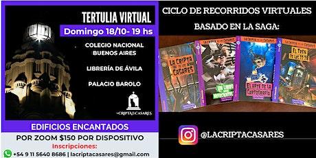 EDIFICIOS ENCANTADOS |VIRTUAL (WEB / ONLINE) entradas
