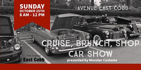 Cruise, Brunch, Shop Car Show tickets