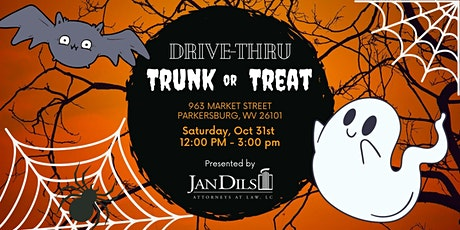 Drive Thru Trunk-or-Treat tickets