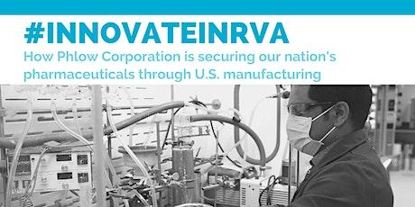 #innovateinRVA: Phlow Corporation tickets