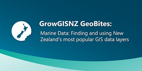 Marine Data: Finding and using New Zealand's popular GIS data layers tickets