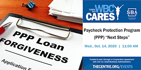 "Paycheck Protection Program (PPP) ""Next Steps"" tickets"