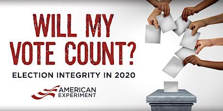 Will My Vote Count? tickets