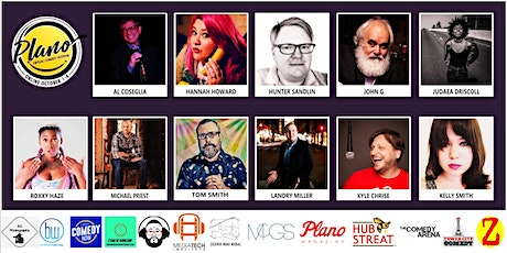 Plano Virtual Comedy Festival - Saturday Late Night Blue Stand-Up Show tickets