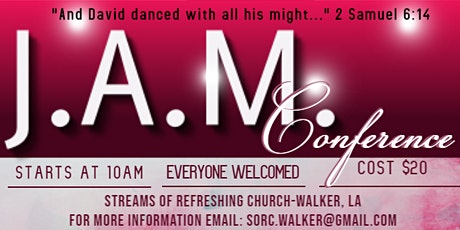 J.A.M. Conference-Dance Like David Danced tickets