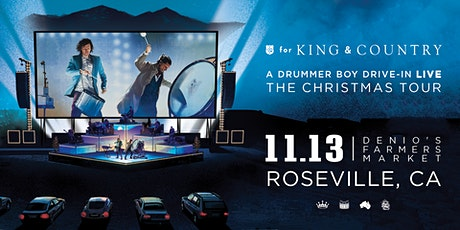 for KING and COUNTRY's A Drummer Boy Drive-In: The Christmas Tour tickets