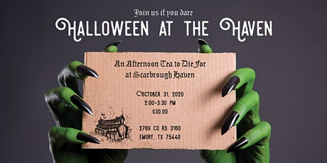 Halloween at the Haven: An Afternoon Tea tickets
