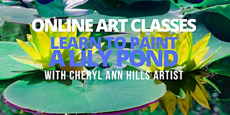 Learn to Paint a Lily Pond tickets