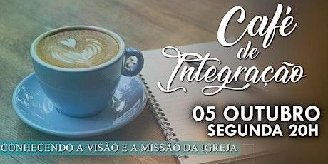 Café de integração - 05/10/2020 ingressos