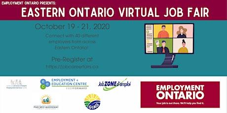 Eastern Ontario Virtual Job Fair tickets