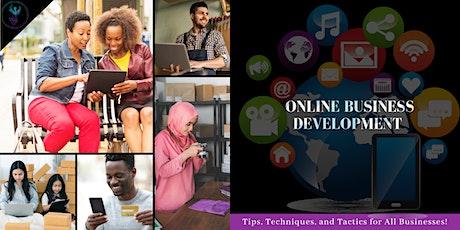 Online Business Development Webinar tickets
