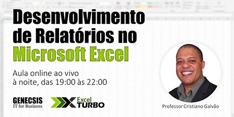 Desenvolvimento de Relatórios no Microsoft Excel bilhetes