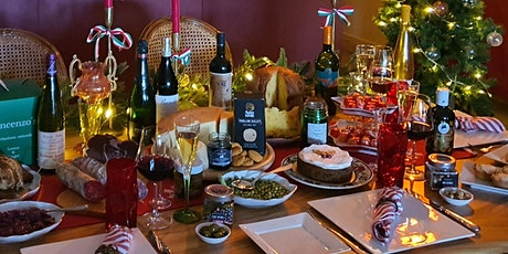 Exclusive tasting of Christmas hampers tickets