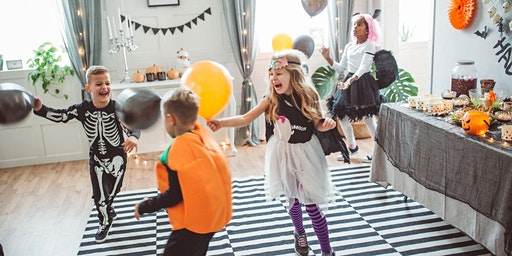 Live Virtual Wellness Kids Halloween Dance Party